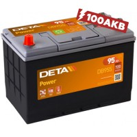Аккумулятор Deta Power DB955L (95 А/ч)