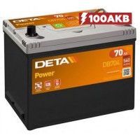 Аккумулятор Deta Power DB704 (70 А/ч)