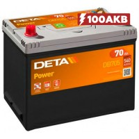 Аккумулятор Deta Power DB705 (70 А/ч)