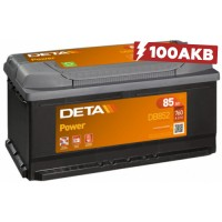 Аккумулятор Deta Power DB852 (85 А/ч)