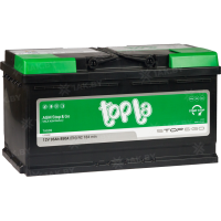 Аккумулятор TOPLA TOP AGM Stop & Go (95 A/h), 850A R+