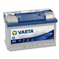 Аккумулятор Varta Blue Dynamic EFB D54 (65 А/h), 650А R+ (565 500 065)